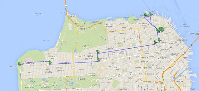 9 mile route